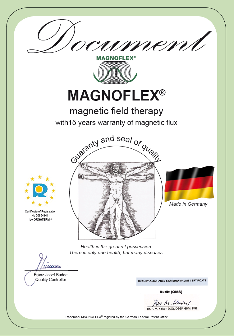 Quality and Warranty Certificate